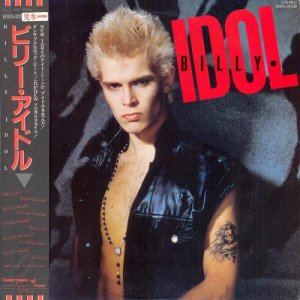 Billy Idol - Billy Idol (1982) [Japan Promo / Vinyl Rip 24/192+32/192]