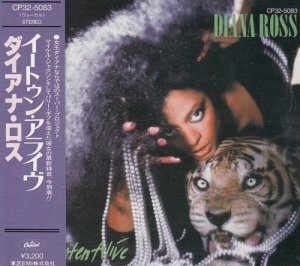 Diana Ross - Eaten Alive (Japan Edition) (1985)