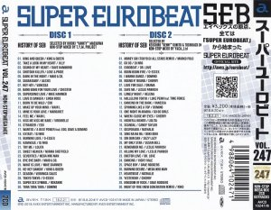 VA - Super Eurobeat Vol. 247 - Non-Stop Mega Mix [Japan] (2018)