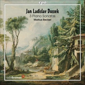 Markus Becker - Jan Ladislav Dussek: 3 Piano Sonatas (2006)