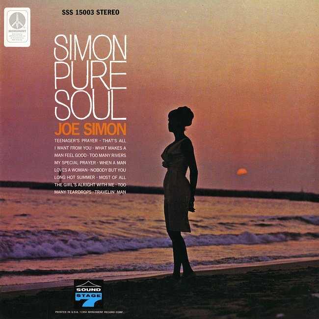 Joe Simon - Simon Pure Soul (1966) [2016] [HDTracks