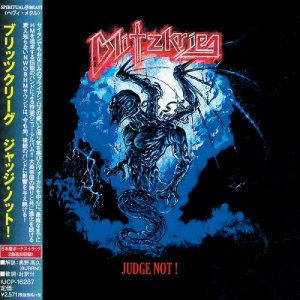 Blitzkrieg - Judge Not! (Japan Edition) (2018)