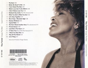 Tina Turner - Simply The Best (1991)