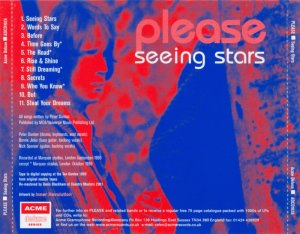 Please - Seeing Stars (1969) [Remastered] (2001)