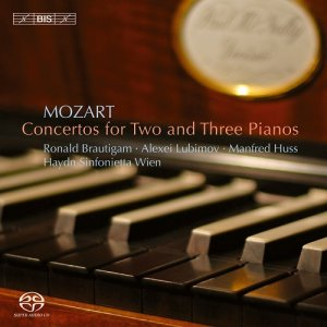 Ronald Brautigam, Alexei Lubimov, Manfred Huss - Mozart: Concertos for Two and Three Pianos (2007) [SACD / FLAC]