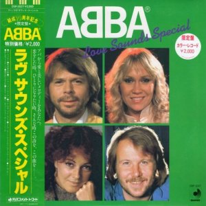 ABBA - Love Sounds Special [Japan LP] (1982)