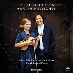 Julia Fischer, Martin Helmchen - Schubert: Complete Works for Violin and Piano (2014) [SACD]