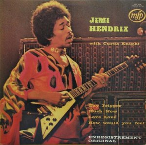 Jimi Hendrix With Curtis Knight - Jimi Hendrix With Curtis Knight (1972) [Vinyl]