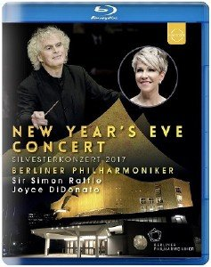 Berliner Philharmoniker - New Year's Eve Concert: Silvesterkonzert 2017 (2018) [Blu-ray]