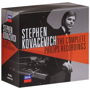 Stephen Kovacevich - Complete Philips Recordings (25 CDs Box Set) (2015)