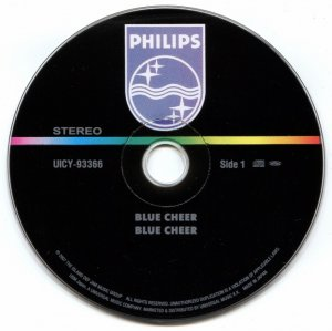 Blue Cheer - Blue Cheer (1969) [Japan remaster] [2007]