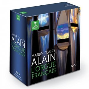 Marie-Claire Alain - L'Orgue Francais [22 Cd Box] (2014)