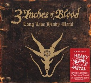 3 Inches Of Blood - Discography (2002-2012)