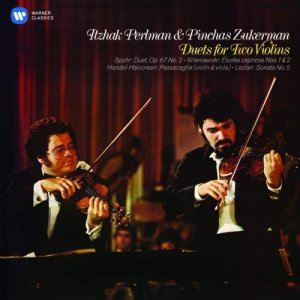 Itzhak Perlman & Pinchas Zukerman - Duets for two violins (2015) [Hi-Res]