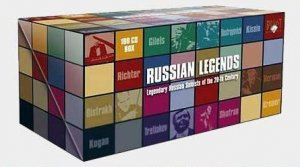 VA - Russian Legends: Soloists Of The 20th Century (100CD Box Set, 2007)