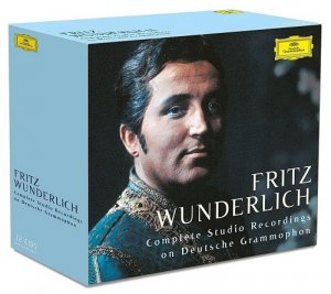 Fritz Wunderlich - Complete Studio Recordings on Deutsche Grammophon [32 CD Box Set] (2016)