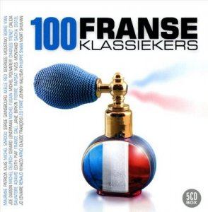 VA - 100 Franse Klassiekers [5CD Box Set] (2007)