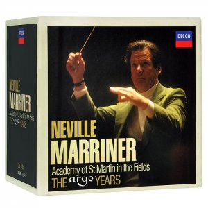 Neville Marriner, Academy Of St. Martin In The Fields. The Argo Years [28CD Box Set] (2014)