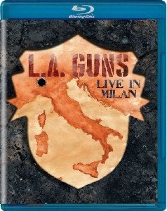 L. A. Guns - Made In Milan (2018) [Blu-ray]