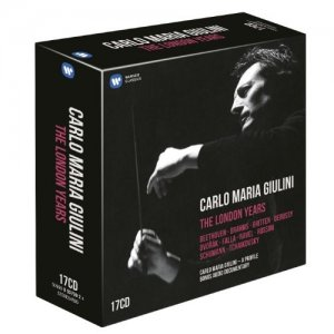 Carlo Maria Giulini – The London Years (2013)