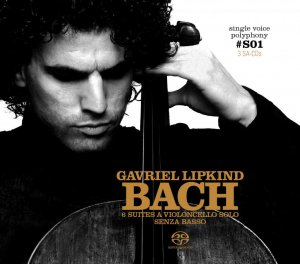 Gavriel Lipkind - J. S. Bach: Suites for Cello Solo Single Voice Polyphony I (3 SACD, 2007) PS3 ISO