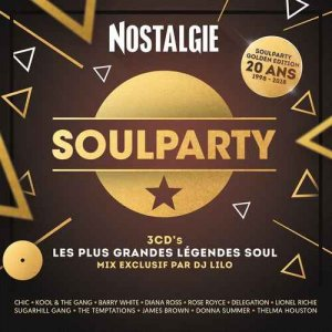 VA - Nostalgie Soulparty: Les Plus Grandes Legendes Soul [3CD Box Set] (2018)