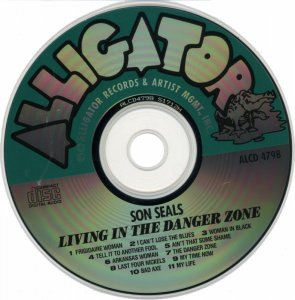 Son Seals - Living In The Danger Zone (1991)