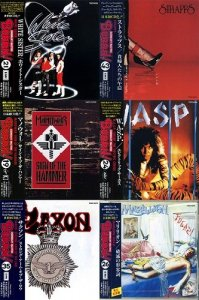 VA - BURRN! Legendary Masters Series Collection [49 Albums, Japan] (1974-1990)