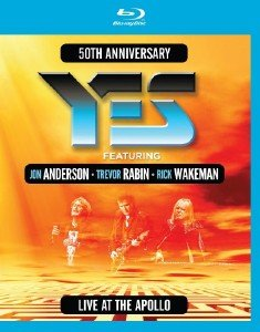 Yes -  Live At The Apollo (2018) [Blu-ray]