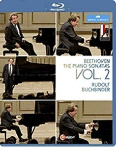 Beethoven - The Piano Sonatas Vol 2 - Rudolf Buchbinder (2016) [Blu-ray]