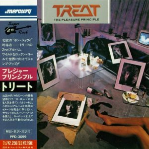 Treat - The Pleasure Principle (1986) [Japan Press 1990 + Reissue 1992]