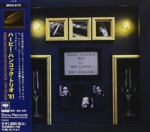 Herbie Hancock Trio with Ron Carter + Tony Williams - Trio (1996) [Japan Press]