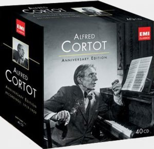 Alfred Cortot - The Anniversary Edition (40 CDs Box Set) (2012)