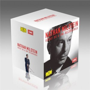 Nathan Milstein - Great DG & EMI Recordings (37CD Box Set ) (2016)