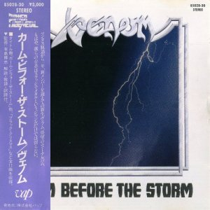 Venom - Calm Before The Storm (1987) [Japan Press]