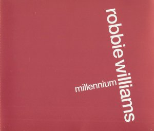 Robbie Williams - Millennium (Promo CD Single) (1998)