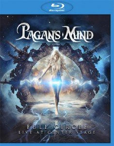 Pagan's Mind - Full Circle - Live At Center Stage (2015) [Blu-ray]