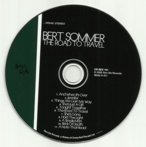 Bert Sommer - The Road To Travel (1968) Reissue (2006)