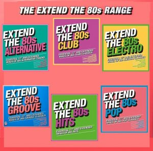 VA - Extend The 80s Series (2018)