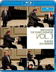Beethoven - The Piano Sonatas Vol 3 -  Rudolf Buchbinder (2016) [Blu-ray]