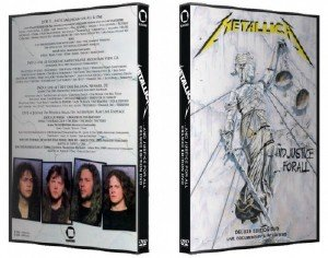 Metallica - ...And Justice For All [Deluxe Edition] (2018) [4xDVD9]