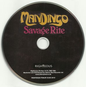 Mandingo - Savage Rite (1977) [Remastered] (2012)