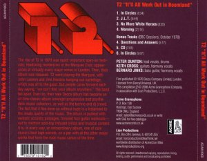 T2 -  It'll All Work Out In Boomland (1972) (2008)