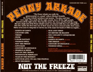 Penny Arkade - Not The Freeze (1967-68) (2004)