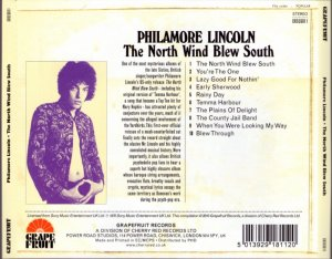 Philamore Lincoln - The North Wind Blew South (1970) [Reissue] (2010)