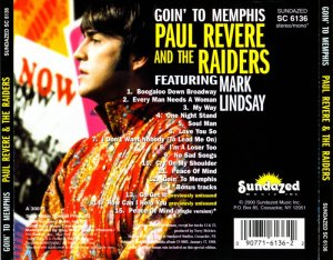 Paul Revere & The Raiders Featuring Mark Lindsay - Goin' To Memphis (1968) (2000)