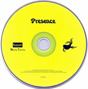 Presence - Presence (1976) [Korean Remaster] (2008)