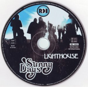 Lighthouse - Sunny Days (1972) [Remastered] (2008)