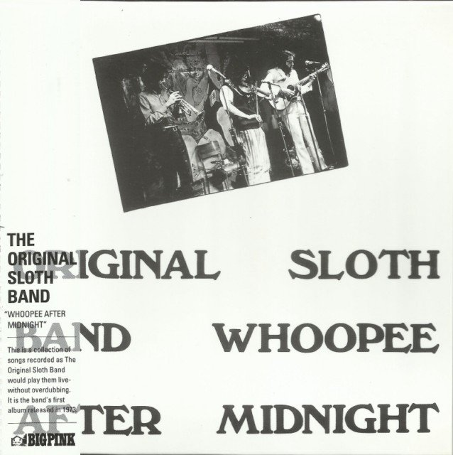 Original Sloth Band - Whoopee After Midnight (1973) (Korean