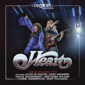 Heart & Friends - Live in Atlantic City (2019) [Blu-Ray]